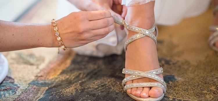choosing beautiful bridal shoes