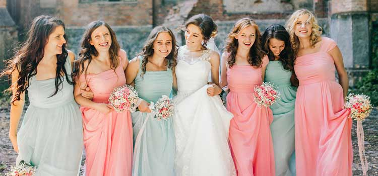 picking bridesmaid dresses