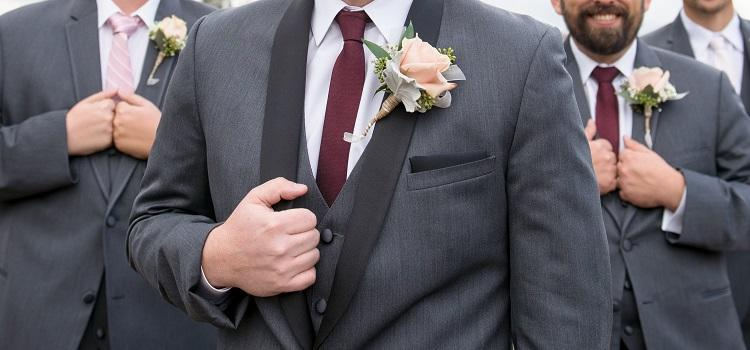 best-man and groomsmen wedding suits