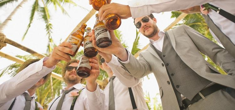 stay cool on your wedding day