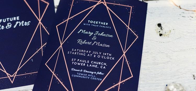 complete guide to creating wedding invitations