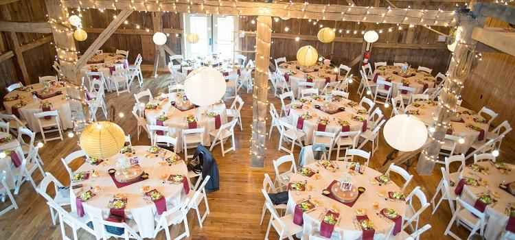 wedding reception venues compared