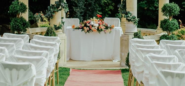 wedding ceremony decorations for different venues